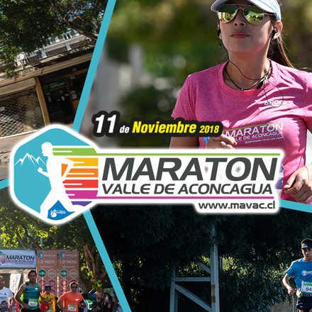 Maratón Valle de Aconcagua - 11 Noviembre 2018