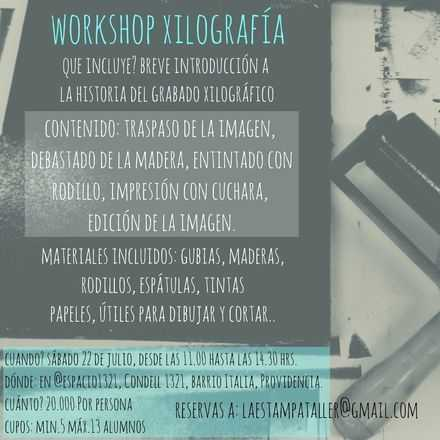 WorkShop Xilografia
