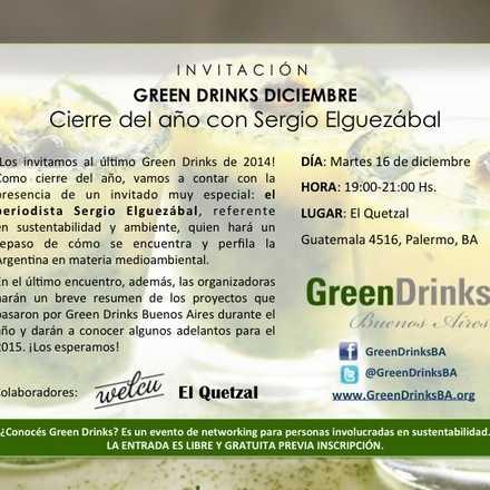 Green Drinks Buenos Aires / Cierre del año con Sergio Elguezábal