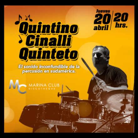 1° Noche de Jazz vinos & Blues con Quintino Cinalli Quinteto