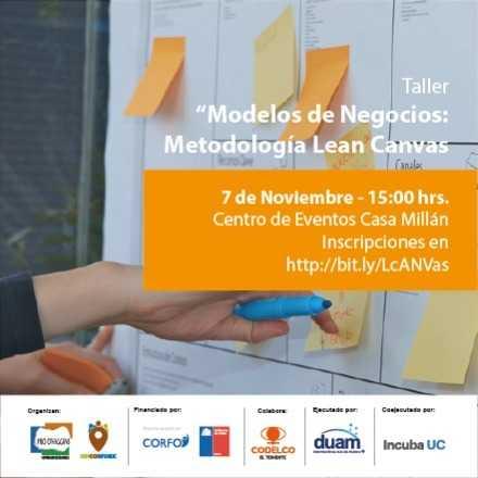 Taller Modelos de Negocios Metodología Lean Canvas