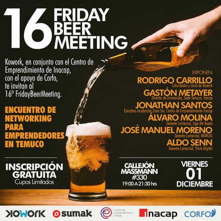 16º Friday Beer Meeting Encuentro de Networking para Emprendedores