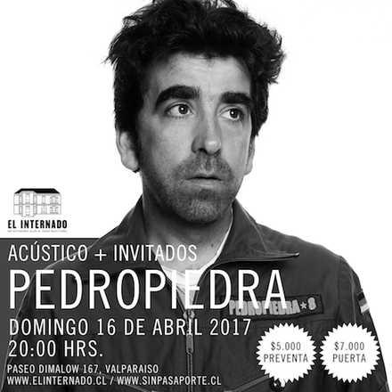Pedropiedra acústico + invitados