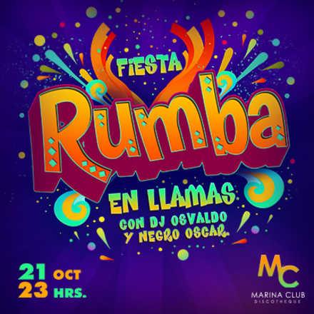 Fiesta RUMBA by Fiesta en Llamas