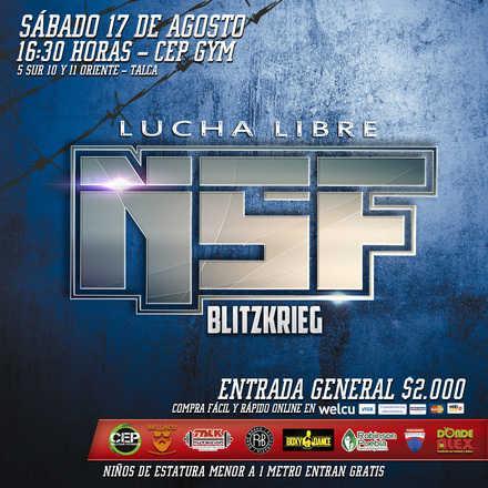 NSF Lucha Libre: Blitzkrieg