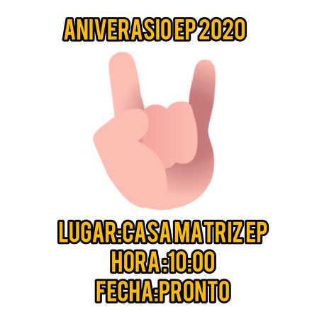 Aniversario ep 2020