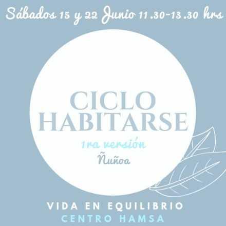 Ciclo Habitarse- Junio 2019