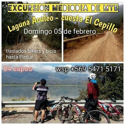 1/2 dia de MTB en Laguna Aculeo - cuesta El Cepillo