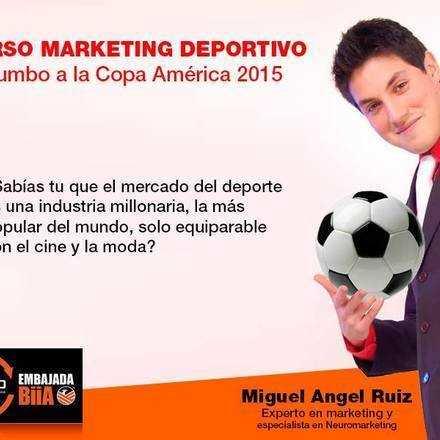 """Curso """"Marketing Deportivo"""" Rumbo a la Copa América Chile 2015"""