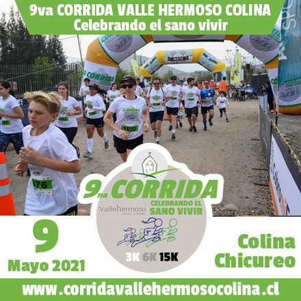 CORRIDA VALLE HERMOSO COLINA - CELEBRANDO EL SANO VIVIR - Mayo 9 2021