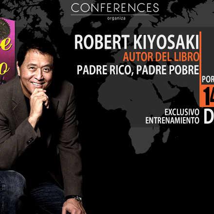 Robert Kiyosaki por primera vez en Chile