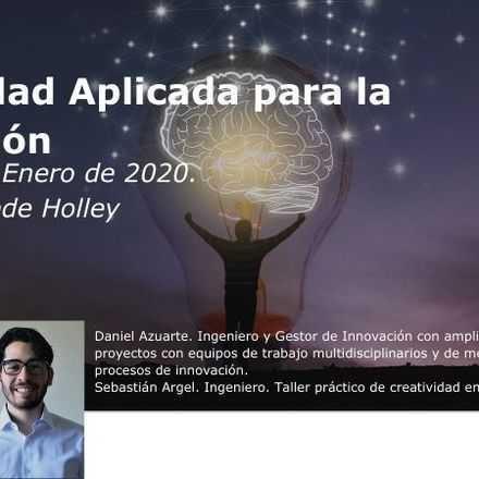 Taller: Creatividad Aplicada para la Innovación