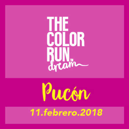 The Color Run Pucón 2018