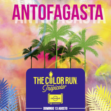 The Color Run Antofagasta Tarjeta Scotiabank Cencosud 2017