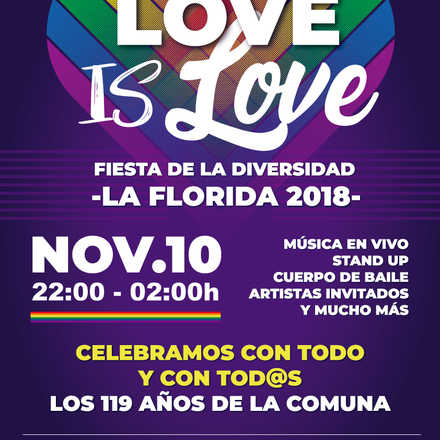 Aniversario La Florida: Fiesta Love is Love