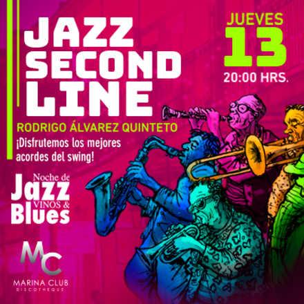 7° Noche de Jazz Vinos & Blues con Rodrigo Alvarez