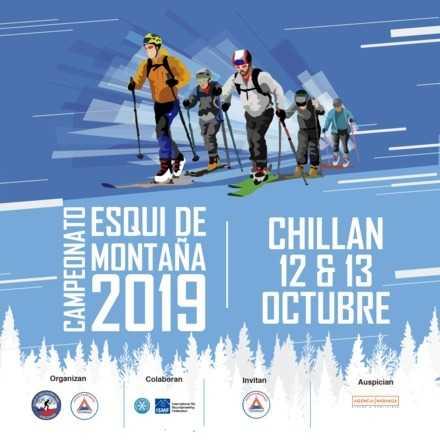 7ma fecha Campeonato Nacional Esqui de Montaña Nevados Chillan