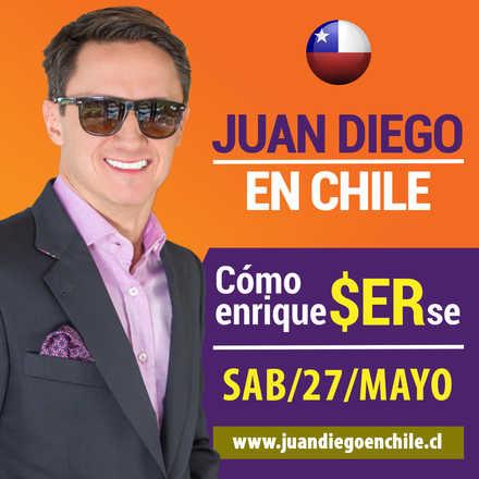 Juan Diego Gómez en Chile - Conferencia Cómo EnriqueSERse