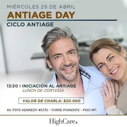 Ciclo Antiage - Antiage Day - Iniciación