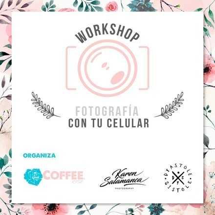 Workshop de fotografía con tu celular