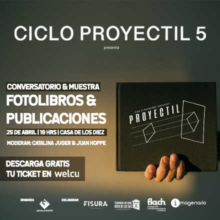 Ciclo Proyectil 5: Fotolibros & Publicaciones