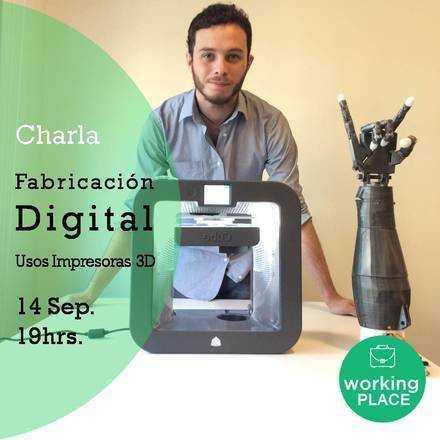 Charla fabricación digital