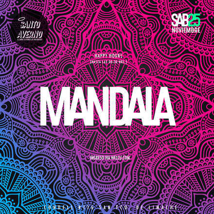 Sab 25 Nov / Mandala