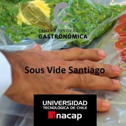 Vacío: módulo presencial en Santiago                                    Técnicas cocina Sous Vide ¡Precio promocional!