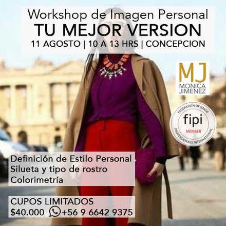 Workshop de Imagen Personal TU MEJOR VERSION