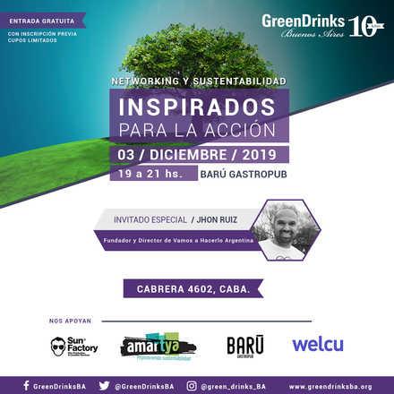 Green Drinks BA 3-12 | Inspirados para la acción