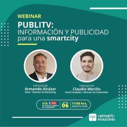 Webinar: PubliTV - Información y publicidad para una Smart City