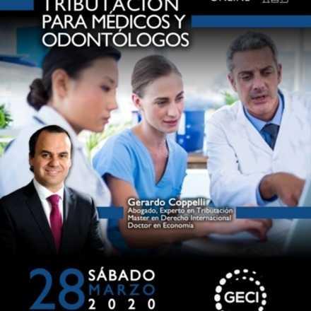 Curso Tributación para médicos y odontólogos ONLINE