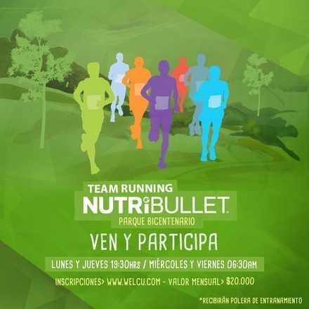 Team Running Nutribullet