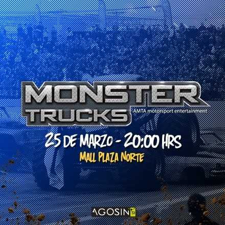 Monster Truck 25 de Marzo / 20hrs