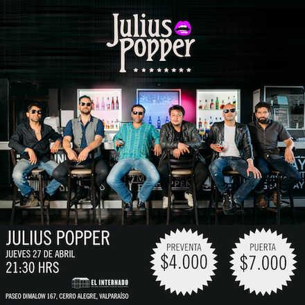 Julius Popper en El Internado - Valparaíso