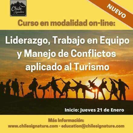 Curso: Liderazgo, Trabajo en Equipo y Manejo de Conflictos aplicado al Turismo