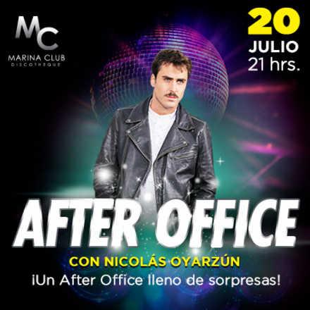 After Office con Nicolás Oyarzún
