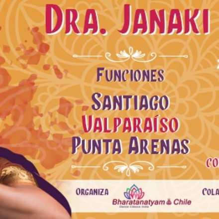"""Función """"Voices"""" Danza Clásica India , Dra. Janaki Rangarajan"""