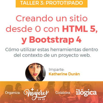 Creando un sitio desde 0 con HTML5, Bootstrap 4 y CSS3