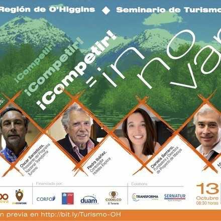 Seminario Turismo en la Región de O'Higgins