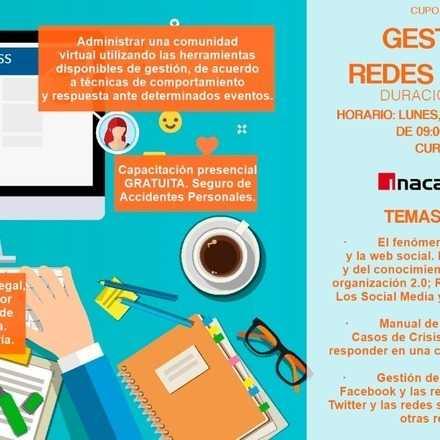 """Curso """"Gestión de Redes Sociales"""""""