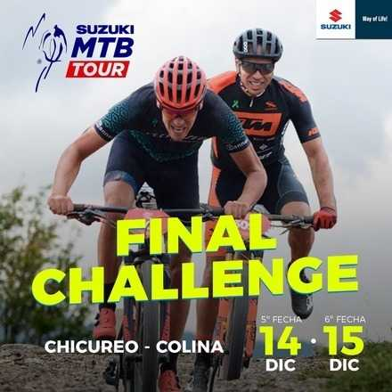 Mountain Bike Tour FINAL CHALLENGE
