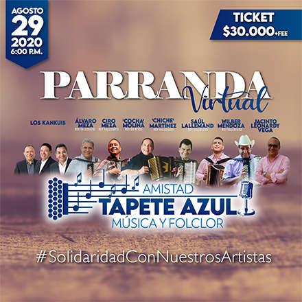 Parranda Virtual - Amistad Tapete Azul - Música y Folclor