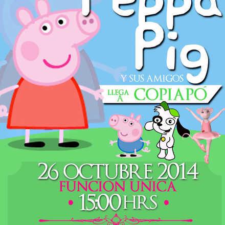 El Show de Peppa Pig y sus amigos en Copiapó