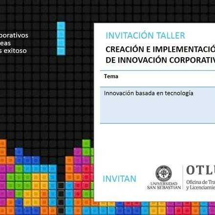 Taller Creación e Implementación de Innovación Corporativa: Desafíos de la Agroindustria