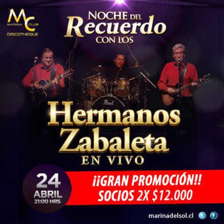 Noche del recuerdo - Hermanos Zabaleta