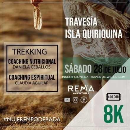Mujer Empoderada - Travesía de Trekking Isla Quiriquina