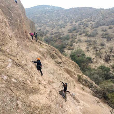 Curso Iniciación a la Escalada en Roca Malku Agosto 2019