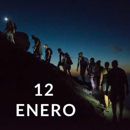 Manquehuito Sunset 12 Enero