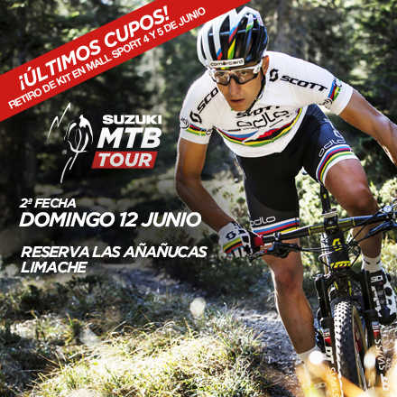 Suzuki Mountain Bike Tour 2ª Fecha 2016
